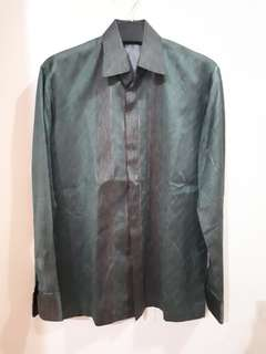BATIK FORMAL SHIRT HIJAUTUA