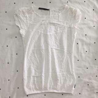 RedGirl White Shirt