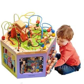 BUSY ZOO TOY BOX 6 in 1