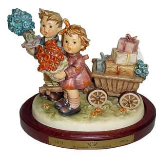 "Goebel Hummel Figurine ""Love's Bounty"" #751 TMK 7"