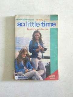 So Little Time Best Friends Forever English Novel