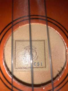 Woodstock Music Collection Ukulele