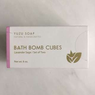 🚚 Yuzu Soap Bath Bomb Cubes