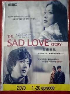 Korean Drama - The Sad Love Story