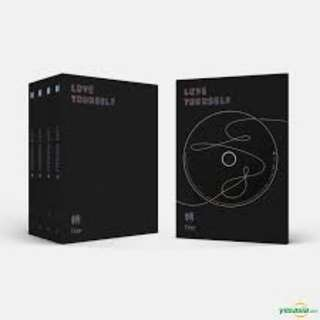 BTS Love Yourself: Tear (Y and R version)