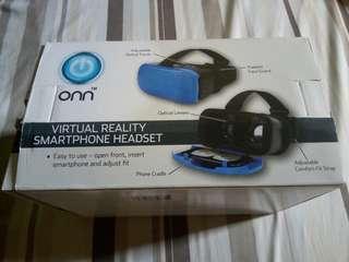 Virtual Reality Headset, Blue
