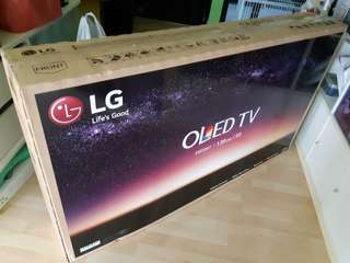 "55"" LG OLED TV BOX ONLY"