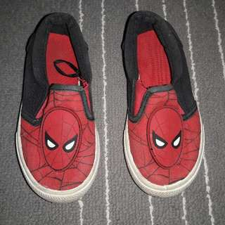 Boy shoes Marvel Spiderman