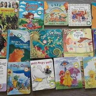 set of 60 baby books