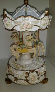 Carousel music box MP268B #July50
