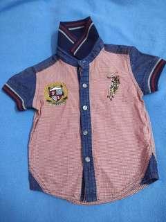 Polo shirt & jumpsuit