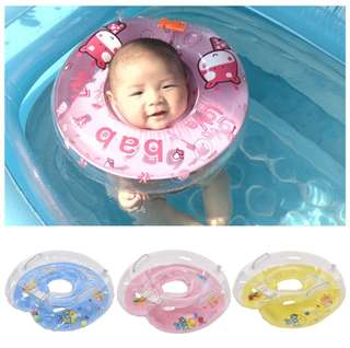 Baby Infant Swimming Neck Float Inflatable Tube Safety Ring