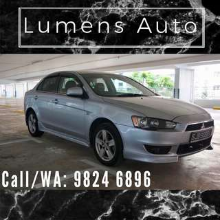 Mitsubishi Lancer Ex - Car Rental for Grab/Personal use