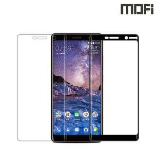 Nokia 7 Plus 諾基亞7 Plus MOFI 3D曲面鋼化玻璃膜全屏覆蓋強化玻璃貼 0770A