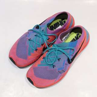 Rare Nike Free 3.0 Flyknit Running Shoes in Pink and Blue
