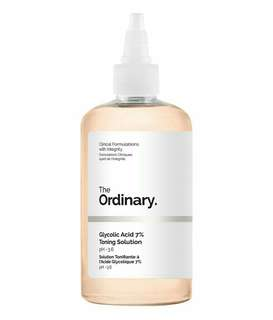 Ready Stock The Ordinary Glycolic Acid Toner