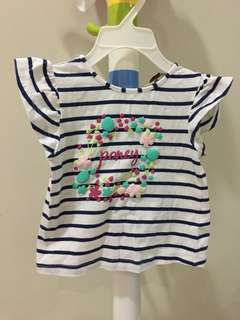 Baby poney girl top