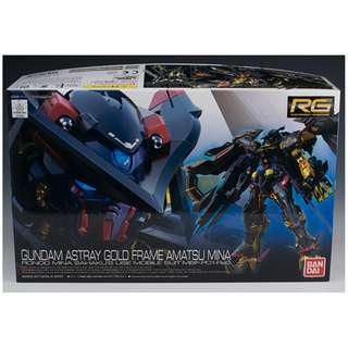 Real Grade RG 1/144 Gundam Astray Gold Frame Amatsu mina