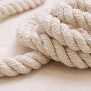 COTTON ROPE WHITE 10 MM 20 MM