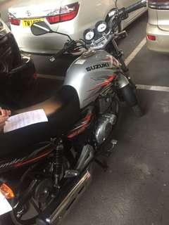 Suzuki 2011....125.cc