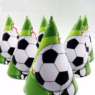 ⚽️Soccer party supplies - party hats