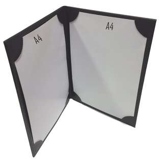 A4 Signature Folders-2 panels/A4 Certificate Folders-2 panels/A4-Artificial Leather Stitch Folders-Durable Waterproof