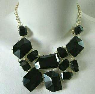Kalung Rantai Hitam (black necklace)