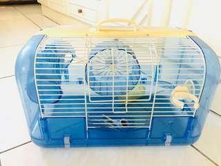 🚚 二手 老鼠的籠子及滾輪還有裡面的東西