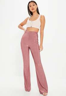 Missguided disco flare pants