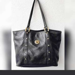 METROCITY  GENUINE LEATHER HANDBAG