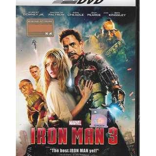 Marvel Iron Man 3 Movie DVD