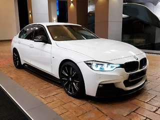BMW F30 320d M-Sport for rent / Kereta Sewa