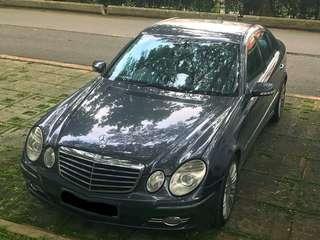 $500 Driveaway Mercedes E280 Rental