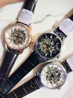 ARBUTUS New York 愛彼特🧚🏻♀😇 自動錶 上鏈錶 同款3色👍🏻 💲現售: 1550/each