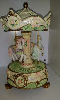 Carousel music box MP268 #July50
