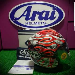 Arai Ram4 Haga GP For Sale..