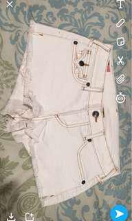 White True Religion Shorts (size 26) negotiable
