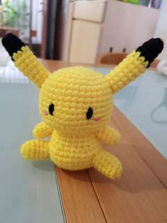 Pokemon crochet - Pikachu