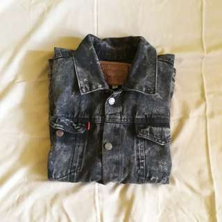 Denim jaket blackstone washing