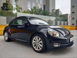 VOLKSWAGEN BEETLE 1.4 TSI AT 5C13Q5
