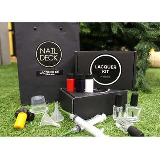 NAIL DECK Lacquer Kit - customise your own nail polish