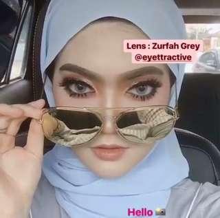 Eyettractive Lens