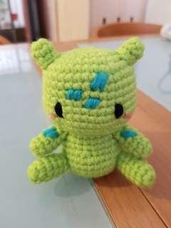 Pokemon crochet - Bulbasaur