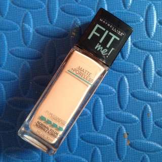 Maybelline Fit Me Matte&Poreless Foundation