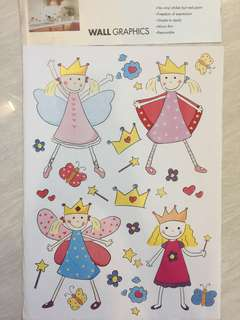 Wall Graphic stickers - Princess & Angels
