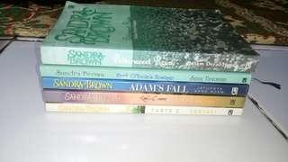 Paket Novel Sandra Brown