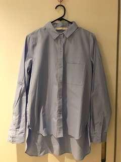 Zara blue shirt