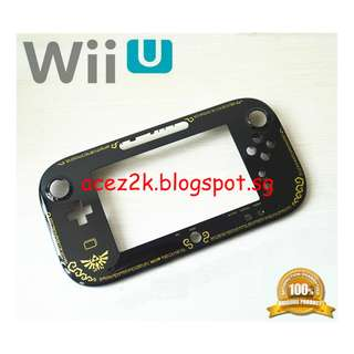 [BN] Wii U Gamepad Zelda Limited Edition Replacement Faceplate (Brand New)