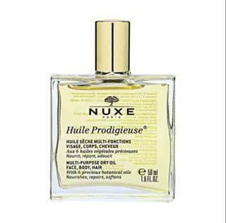 🚚 Nuxe Huile Prodigieuse Multi-Usage Dry Oil (Face, Body and Hair) 50ml