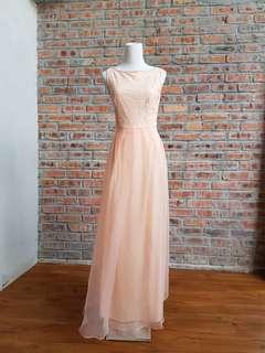 Room Romantic Pink Bridesmaid Dress